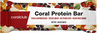 Coral Protein Bar